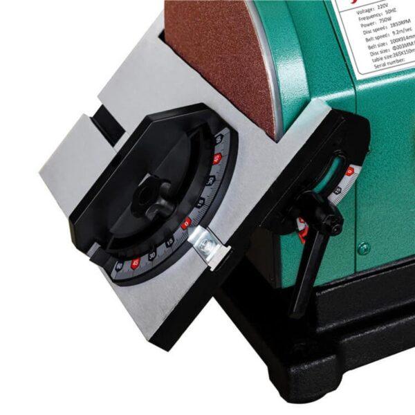 Станок шлифовальный тарельчато-ленточный JDBS-200DC