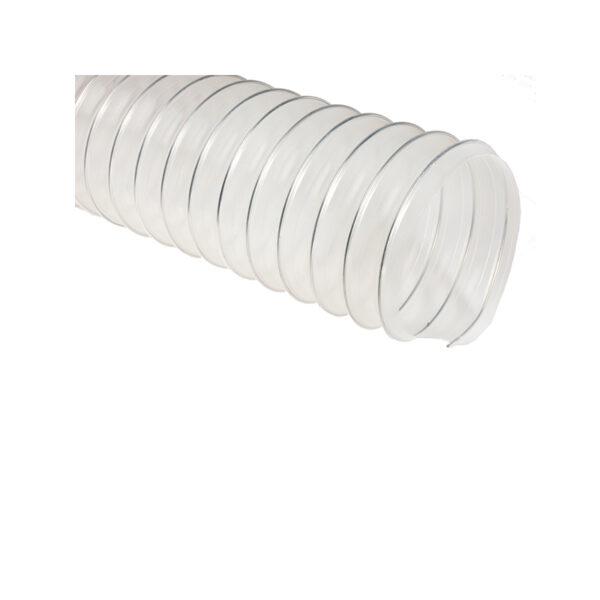 Прозрачный полиолефиновый шланг длиной 10м, ø100мм, стенка 0,5мм